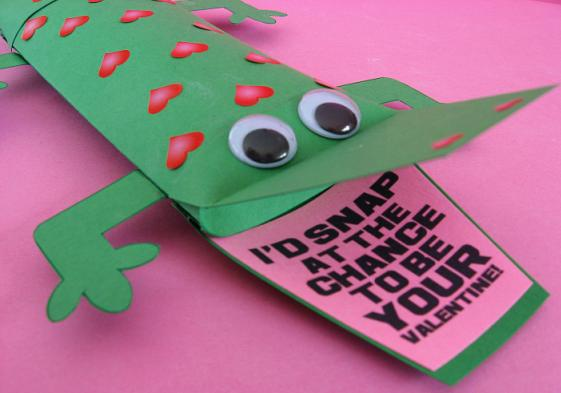 Alligator-Valentine